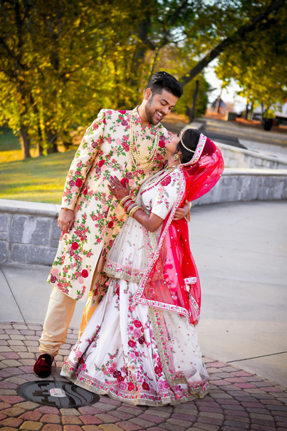 Indian wedding photography. Couple photo shoot