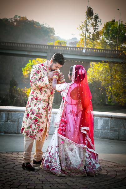 Indian Groom Express his love to Bride