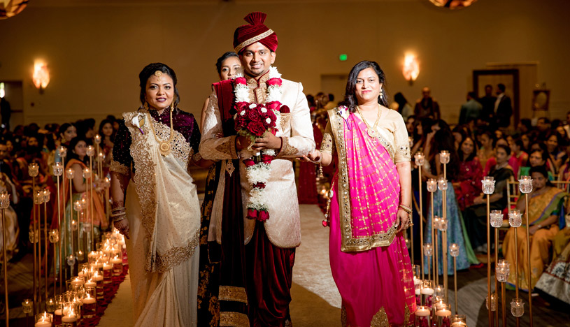 Indian Groom Grand Entrance