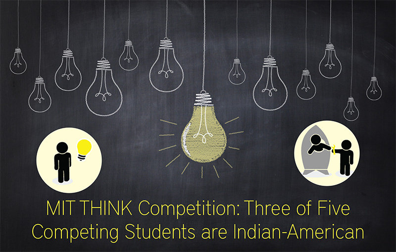 MIT THINK Competition - Three of Five Indian-American Students
