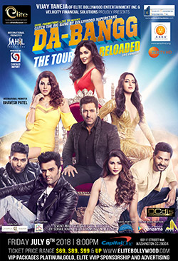 Dabangg Tour Steals Heart of Chicago Audience