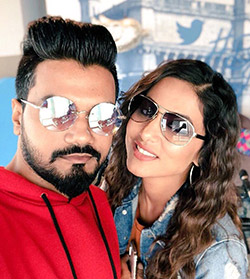 Hina Khan and Beau Rocky Jaiswal Turn Heads at Airport