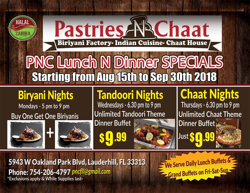 Pastries & Chaat