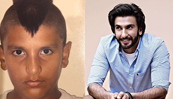 Ranveer Singh shares Throwback Photos