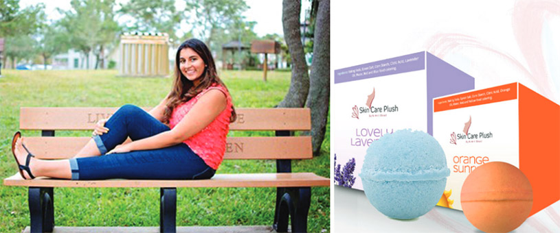 16-Year-Old Indian American, Nimrit Doad, Founder of Skin Care Plush