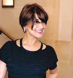Sonali Bendre's New Haircut