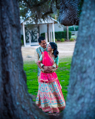Indian Couple Outdoor Photoshoot Capture