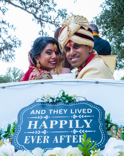 Newlyweds Indian Couple Capture