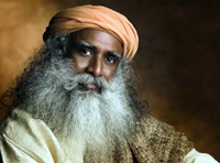 Jaggi Vasudev, commonly known as Sadhguru
