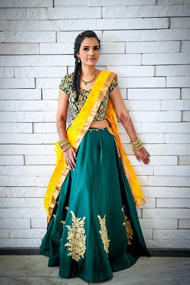 Graceful Indian Bride Photo