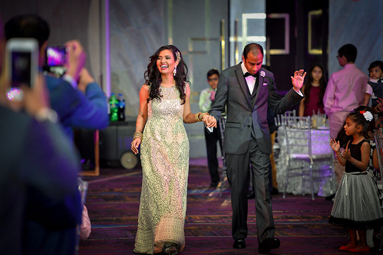 Lovely Indian Bride and Groom's Dance Capture