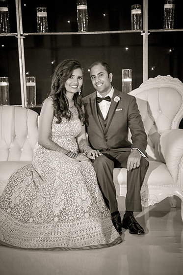 Sweet Indian Newlyweds