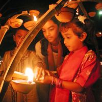 Divali Nagar, City of Lights in Trinidad and Tobago