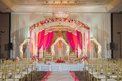 Marvelous Indian Wedding Mandap Decoration