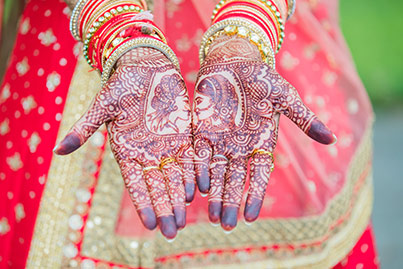 Indian Bride Mehndi Capture