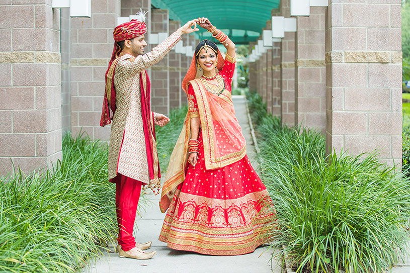 Indian Bride and Groom Tender Movement