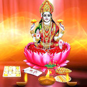 Goddess Lakshmi is worshipped on the day of Diwali