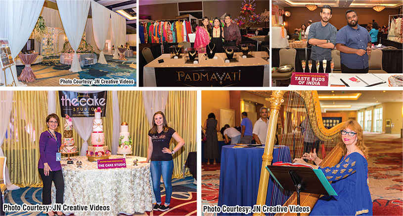 The wedding industry's top vendors are part of the show giving attendees a chance to meet with vendors who specialize in South Asian weddings.