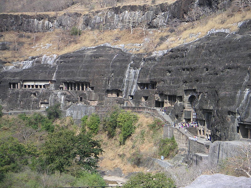 Ajanta Caves (2nd century BC to the 6th century)
