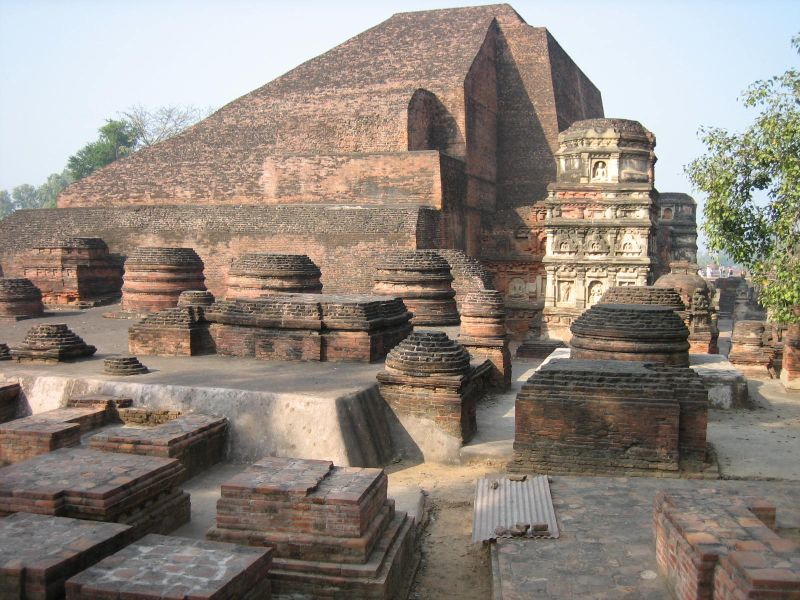 Archaeological Site of Nalanda Mahavihara at Nalanda, Bihar (5th to 12th centuries)