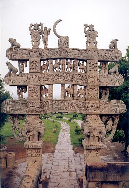 Buddhist Monuments at Sanchi (2nd and 1st centuries BC to the 12th century AD)