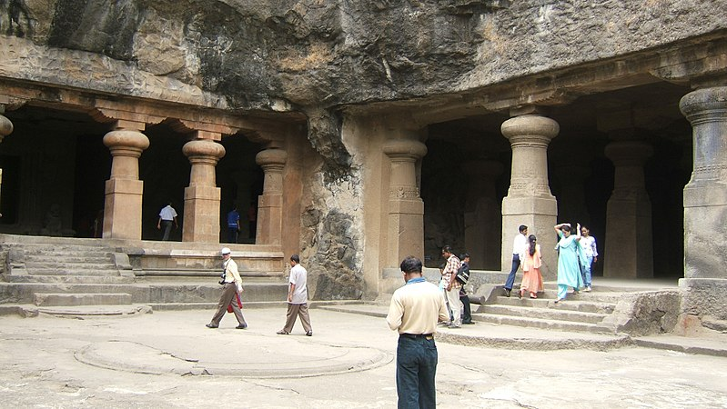 Elephanta Caves (5th to 8th centuries)