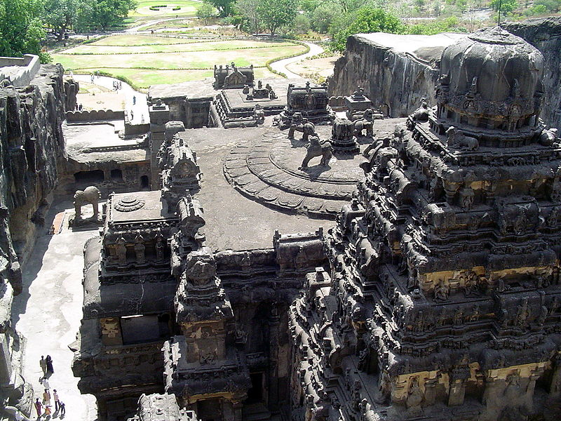 Ellora Caves (600 to 1000 AD)