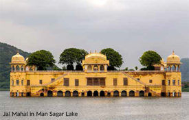 Jal Mahal in Man Sagar Lake