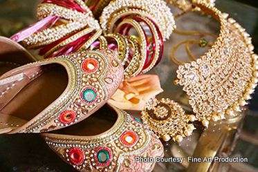 Wedding Jewelry of Indian Bride