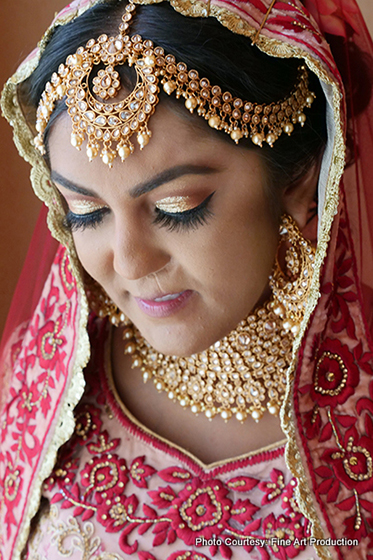Beautiful Indian Bride Portrait