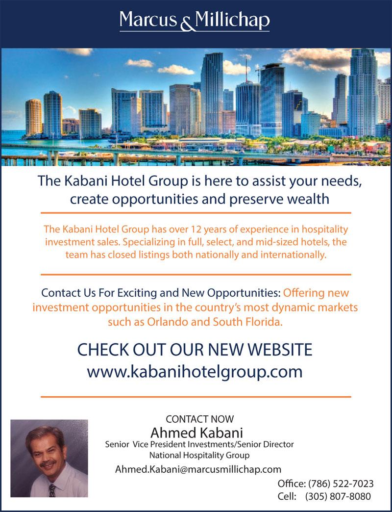 Marcus & Millichap Kabani Hotel Group