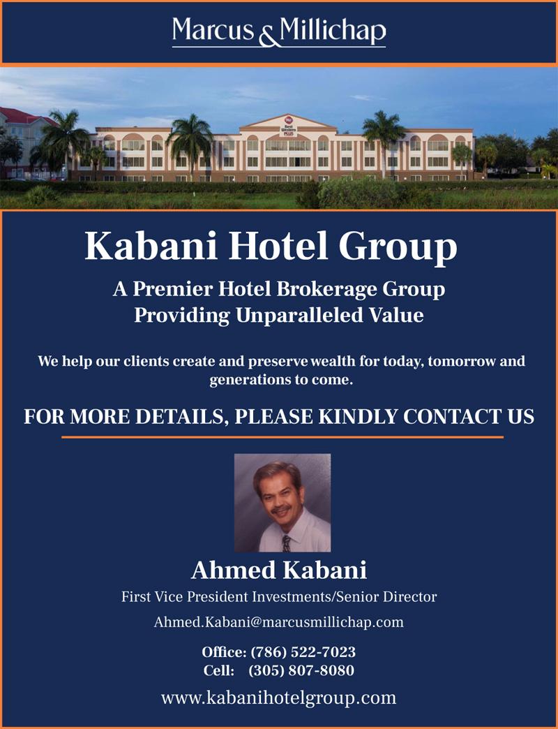 Marcus & Millichap; Kabani Hotel Group