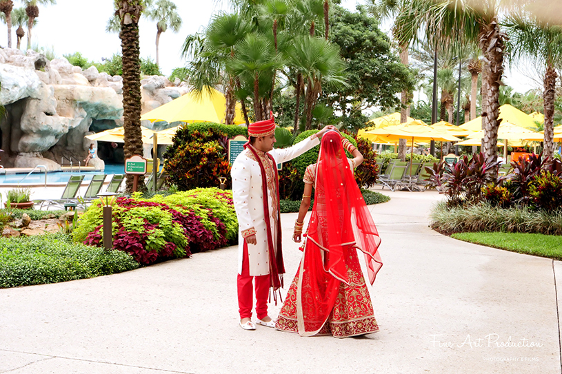 Indian Couple Posing for the photo