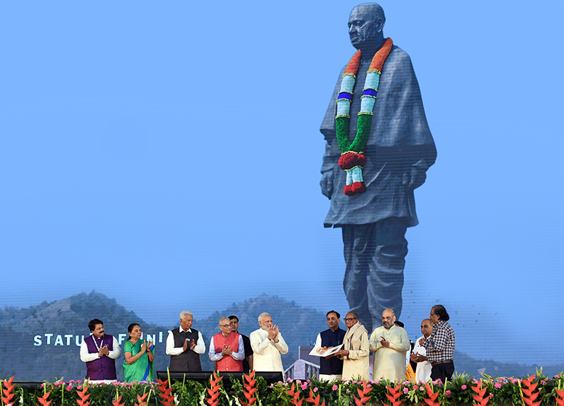 The Statue of Unity: Dedicated to Sardar Patel