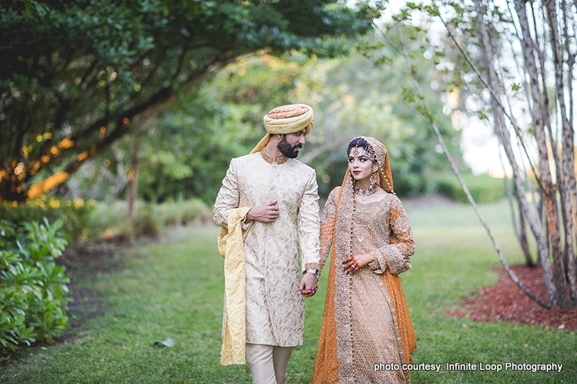 Sweet Indian Newlyweds Photo Shoot