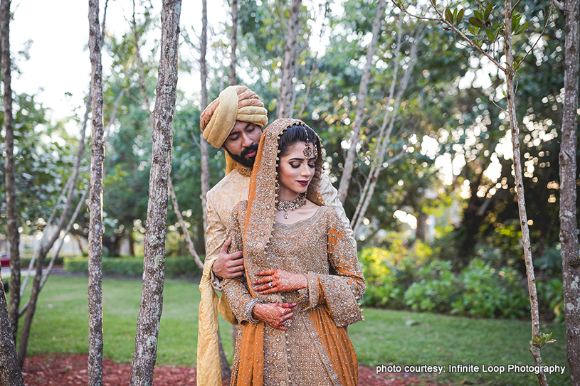 Enchanting Outdoor Indian Wedding Photoshoot