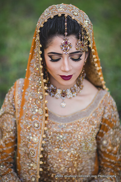 Dazzling Indian Bride Makeup