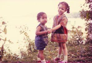 Kamala Harris when she was young