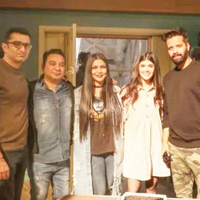 Sanjana Sanghvi begins filming for Om