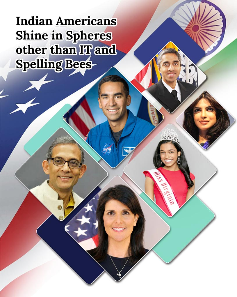 Indian Americans Shine in Spheres other than IT and Spelling Bees