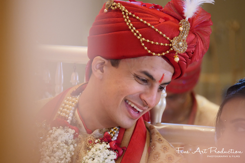 Portrait Image of the indian Groom