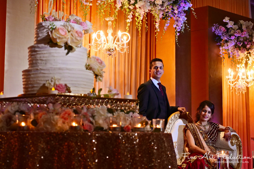 Detailed look of Wedding reception Decor