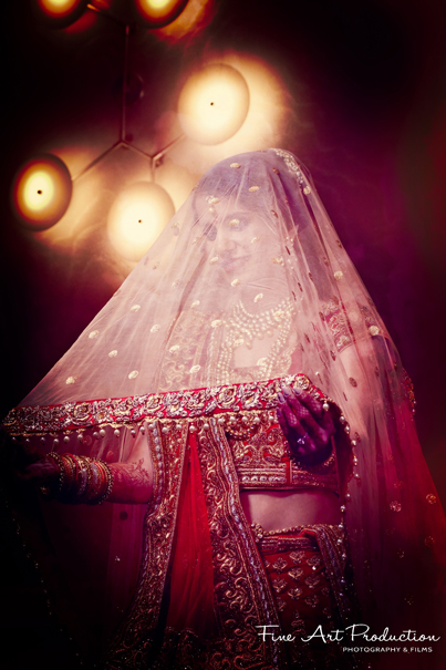 Detailed look of Indian Bride