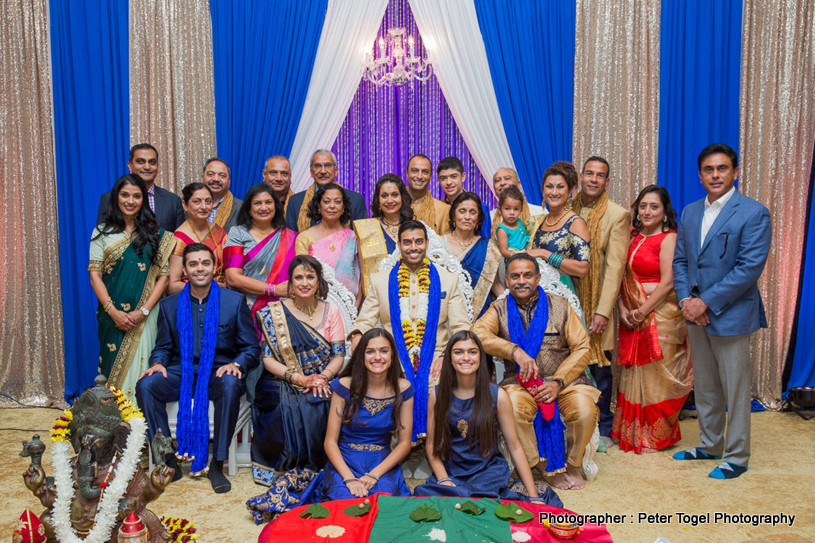 Groom with his big Family