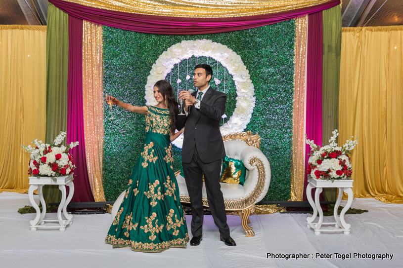Toast to this Indian Couple