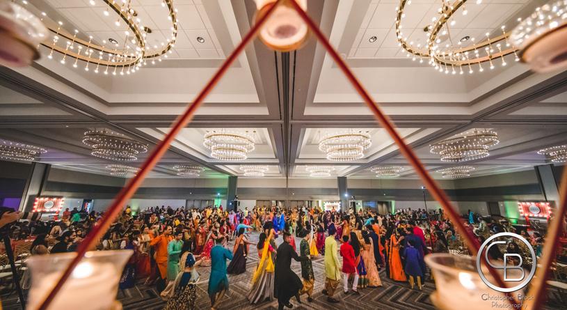 Garba at Indian Sangeet Ceremony