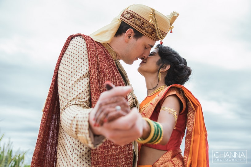 Most Romantic moment for Indian bride and groom
