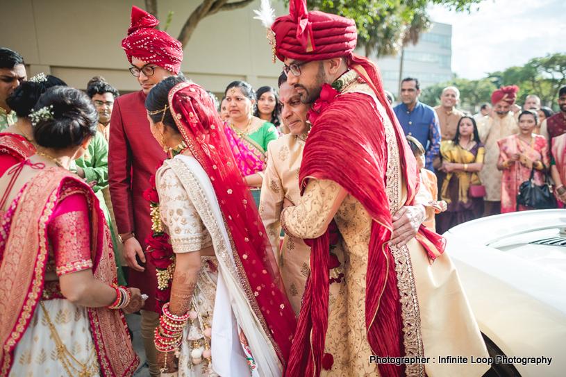 Vidaay Ceremony in Indian Weddings