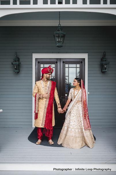 Amazing Outdoor Photoshoot of Indian Couple