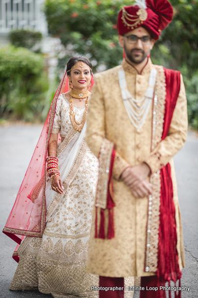 Graceful indian Couple